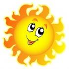 Солнышко лучистое!