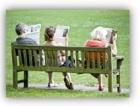 Читальный зал под открытым небом: журнальная скамейка «Pressbench»